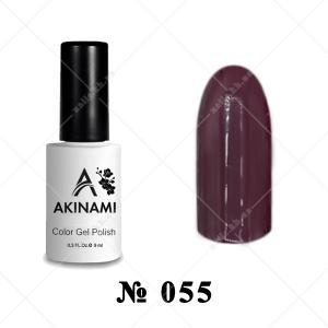 055 - Akinami Color Gel Polish - Cherry, 9ml
