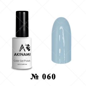 060 - Akinami Color Gel Polish - Ash Blue, 9ml