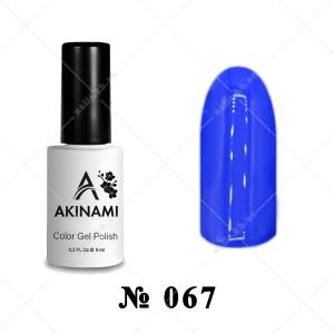 067 - Akinami Color Gel Polish - Cobalt, 9ml