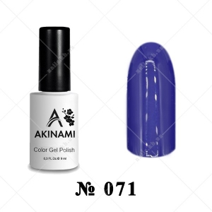 071 - Akinami Color Gel Polish - Royal Purple, 9ml