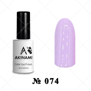 074 - Akinami Color Gel Polish - Bride, 9ml
