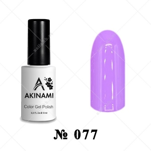 077 - Akinami Color Gel Polish - Radiant Orchid, 9ml