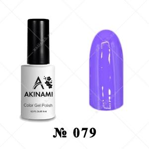 079 - Akinami Color Gel Polish - Amethyst Orchid, 9ml