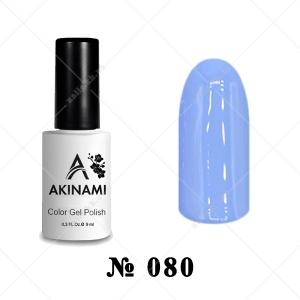 080 - Akinami Color Gel Polish - Dusty Blue, 9ml