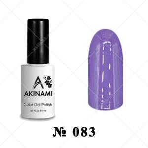 083 - Akinami Color Gel Polish - Dusty Purple, 9ml