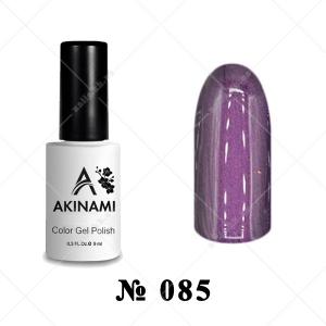 085 - Akinami Color Gel Polish - Purple Pearl, 9ml
