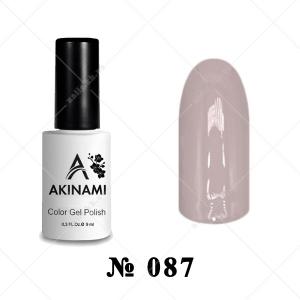087 - Akinami Color Gel Polish - Warm Taupe, 9ml