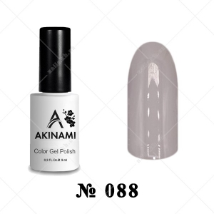 088 - Akinami Color Gel Polish - Gray Quartz, 9ml