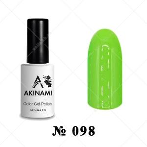 098 - Akinami Color Gel Polish - Grass, 9ml