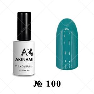 100 - Akinami Color Gel Polish - Aqua, 9ml