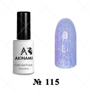 115 - Akinami Color Gel Polish - Bright Glass, 9ml
