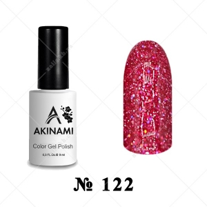 122 - Akinami Color Gel Polish - Pink Salute, 9ml