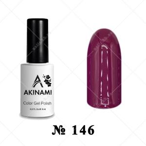146 - Akinami Color Gel Polish - Cherry Jam Lite, 9ml