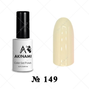 149 - Akinami Color Gel Polish - Ivory, 9ml