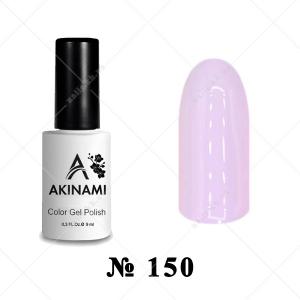 150 - Akinami Color Gel Polish - Pale Rose, 9ml