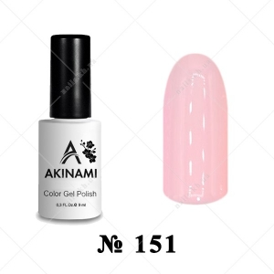 151 - Akinami Color Gel Polish - Biscuit, 9ml