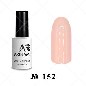 152 - Akinami Color Gel Polish - Creme Brulee, 9ml