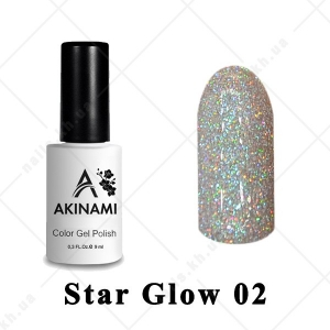 002 - Akinami Color Gel Polish  Star Glow, 9ml
