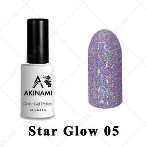 005 - Akinami Color Gel Polish  Star Glow, 9ml