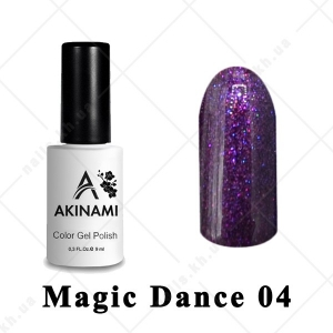 004 - Akinami Color Gel Polish  Magic Dance, 9ml