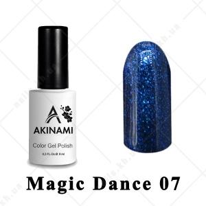 007 - Akinami Color Gel Polish  Magic Dance, 9ml