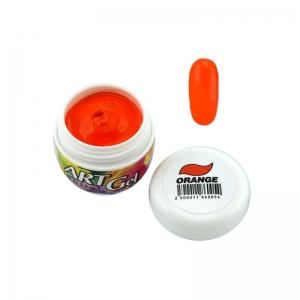 BLAZE Art Gel - гель-краска / Orange / оранжевая 5 мл