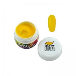 BLAZE Art Gel - гель-краска / Yellow / желтая 5 мл