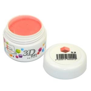 BLAZE 3D Gel - гель объемный цветной / 12 5 мл