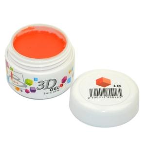 BLAZE 3D Gel - гель объемный цветной / 18 5 мл