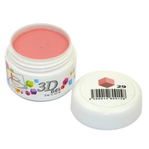 BLAZE 3D Gel - гель объемный цветной / 29 5 мл