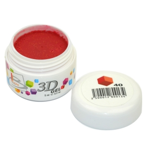 BLAZE 3D Gel - гель объемный цветной / 40 5 мл