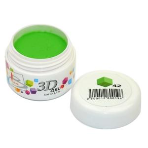 BLAZE 3D Gel - гель объемный цветной / 42 5 мл