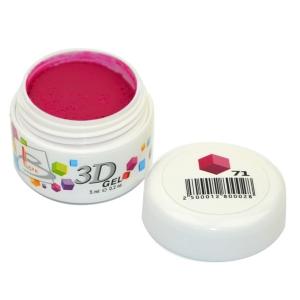 BLAZE 3D Gel - гель объемный цветной / 71 5 мл