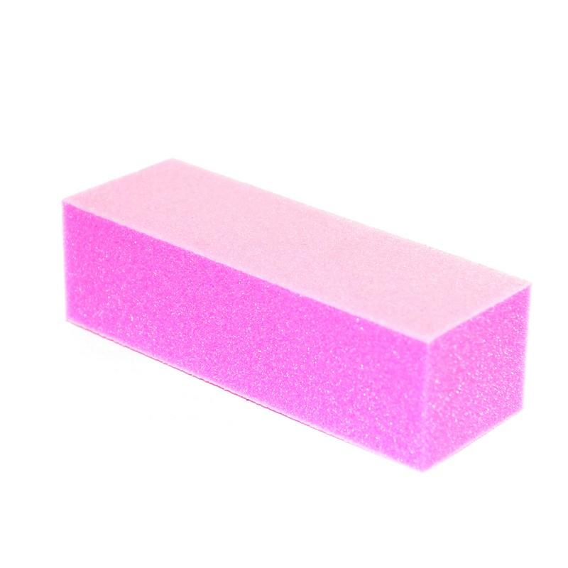 DIXON Баф розовый, 100/180 шт