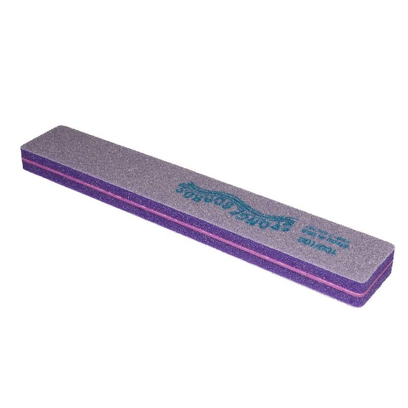 SPONGE BOARD Jumbo - шлифовщик спонжев. широкий фиолет. 100/100 шт