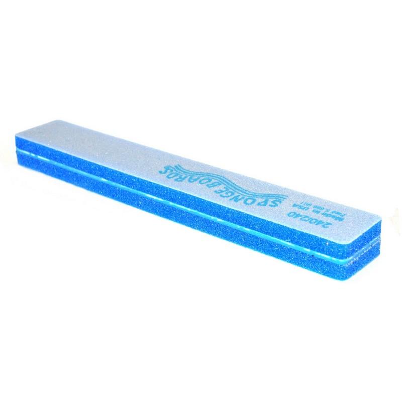 SPONGE BOARD Jumbo - шлифовщик спонжев. широкий синий 240/240 шт
