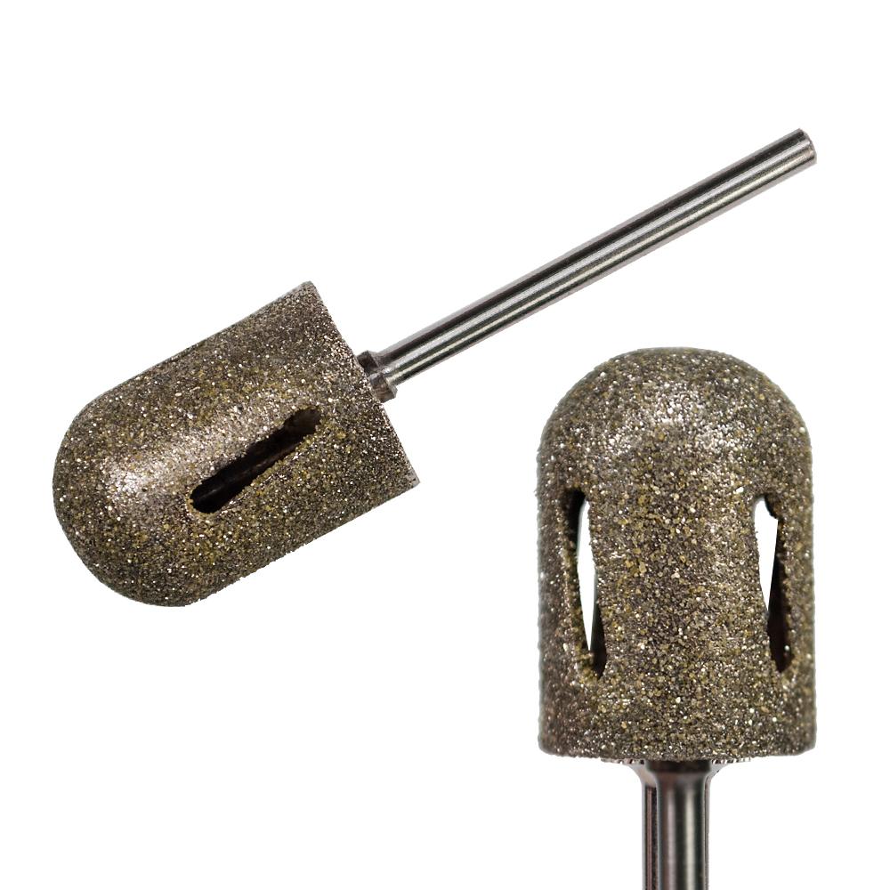 IKONNA Фреза алмазная для аппаратного педикюра диам. 13 мм / Fine - мелкая шт