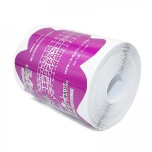 LOVELY Razz Формы для наращивания ногтей пурпурные 100 шт