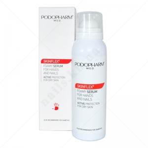 Podopharm MED РМ04 Skinflex® Foamy Serum For Hands And Nails - Увлажняющая Пенка-сыворотка для рук и ногтей, 125мл