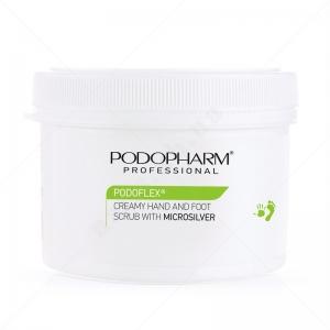 Podopharm Professional PP10 Creamy Hand and Foot Scrub with Microsilver - Крем-пилинг с микросеребром (600 мл)