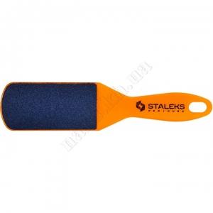 АЕ-10/1 Сталекс терка для стоп пластиковая, 60/80, широкая фиолетовая