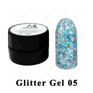 005 - Akinami  Glitter Gel, 5ml