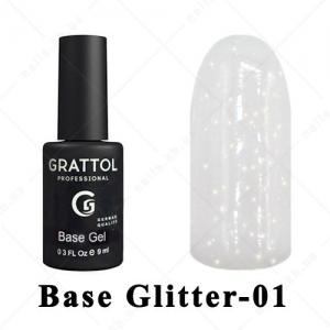 001 - GRATTOL Base  Glitter, 9ml