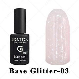 003 - GRATTOL Base  Glitter, 9ml