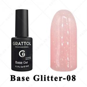 008 - GRATTOL Base  Glitter, 9ml