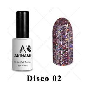 002 - Akinami Color Gel Polish  Disko, 9ml