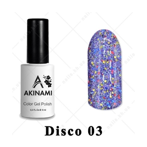 003 - Akinami Color Gel Polish  Disko, 9ml