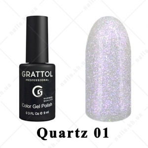 001 - Grattol Color Gel Polish LS Quartz, 9ml