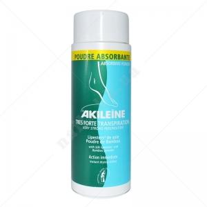 Asepta Akileine GREEN Absorbing Powder Пудра для стопы 368, 75г