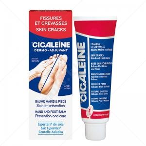 Asepta Akileine Dermo-Adjuvant Cicaleine® Hand And Foot Balm Бальзам от трещин 991026, 50мл